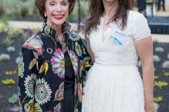 Olivia Dodd and Superintendent Barbara Nemko, photo credit Robb Mcdonough