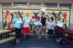 Students at Salvador Elementary