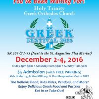 19th Annual St. Augustine Greek Festival and Arts & Crafts Fair