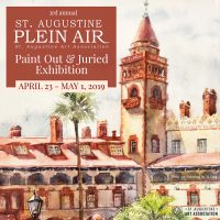 3rd Annual St. Augustine Plein Air Paint Out