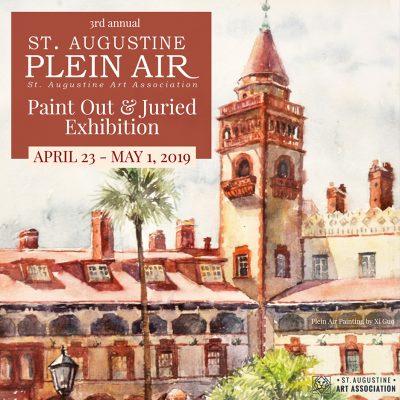 3rd Annual St. Augustine Plein Air Paint Out