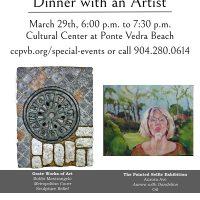 Dinner with an Artist featuring Ellen Diamond and Bobbi Mastrangelo